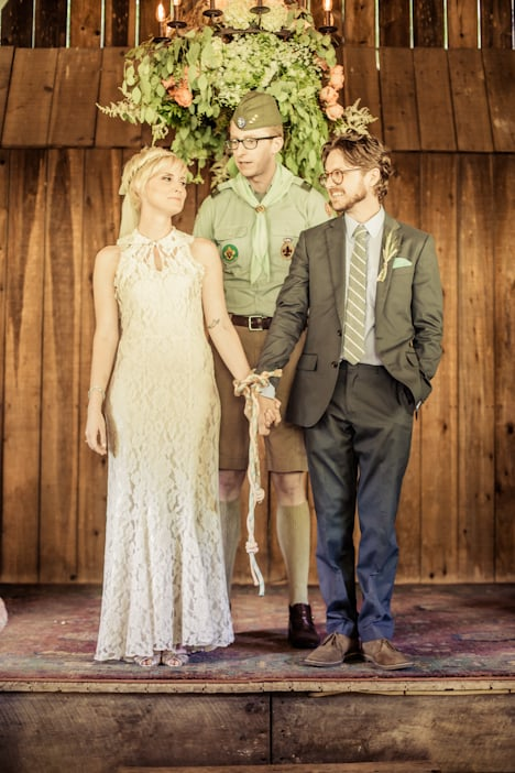 Camp Scout as Officiant