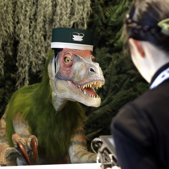 Robot Dinosaur Hotel in Japan