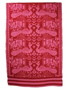 Rice Cotton Durry in Red and Pink (inquire)