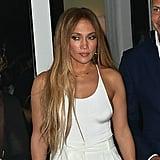 Jennifer Lopez With Blond Hair July 2017