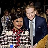 Mindy Kaling and Ronan Farrow