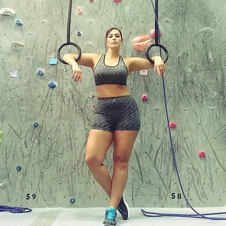 Ashley Graham Plus-Size Model Workouts