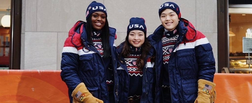 "The USA Opening Ceremony Gloves Seem to Be ""on the Fringe"" of Cool, If You Know What We Mean"