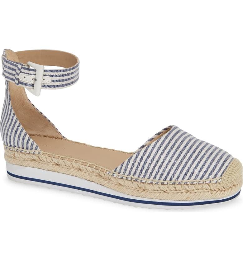 Nordstrom Signature Rosi Flat Espadrille Sandals
