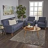 Christopher Knight Home Stratford Mid Century Modern Sofa Set