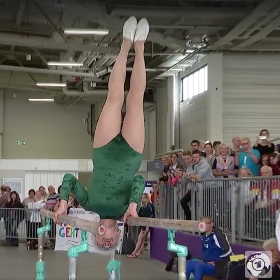 91-Year-Old Gymnast | Video