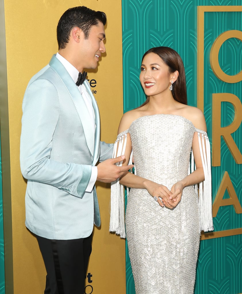"Constance Wu and Henry Golding star as Rachel Chu and Nicholas Young in the highly anticipated Crazy Rich Asians movie, and we're happy to report that their relationship is just as cute in real life. Even though Constance and Henry are only friends (Henry is happily married to TV host Liv Lo), the two seem to genuinely like each other and have a lot of fun together. During a stop on The Ellen DeGeneres Show in April, Constance couldn't help but gush about her costar's charm, saying, ""You just fall in love with him the second you see him on the screen."" Take a look at some of Constance and Henry's cutest moments ahead before the film hits theaters on Aug. 15.      Related:                                                                                                           Sure, Crazy Rich Asians' Henry Golding Is Hot, but Have You Seen Him Shirtless?"