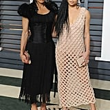 Lisa Bonet and Zoë Kravitz