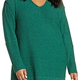 Caslon Bouclé Tunic Sweater