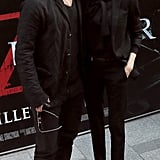 Brad Pitt and Angelina Jolie premiered World War Z in Paris.