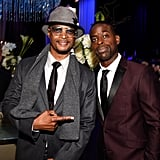 Pictured: Damon Wayans Jr. and Sterling K. Brown