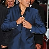 George Clooney in London.