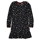 Editor's Pick — Flounce-Hem Mini Dress
