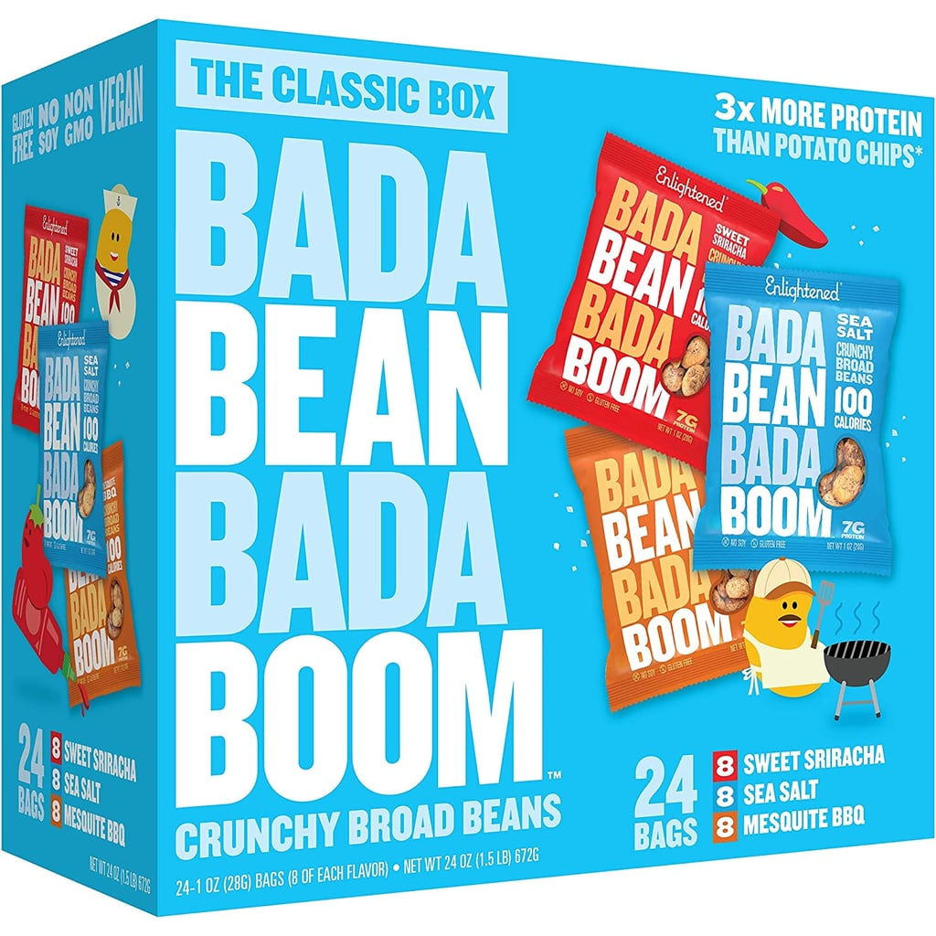 Bada Bean Bada Boom Roasted Broad (Fava) Bean Snacks