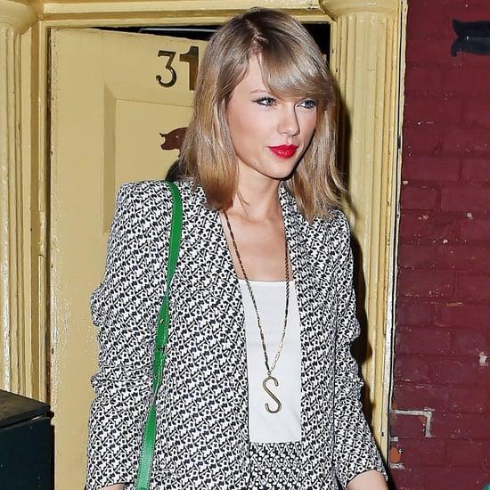 Taylor Swift Printed Shorts Set