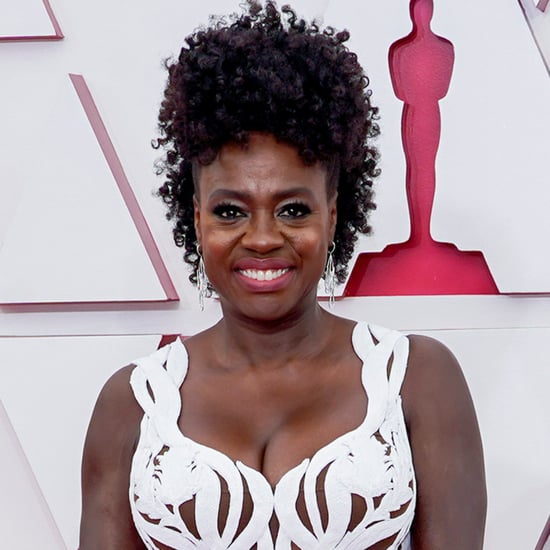 Viola Davis's Curly Updo at the 2021 Oscars With Photos