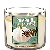 Pumpkin Coconut Three-Wick Candle