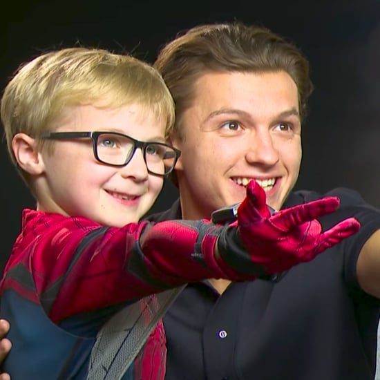 Little Boy Interviewing Tom Holland and Zendaya Video