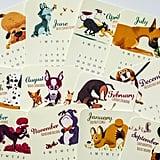 2017 Dog-stastic Desk Calendar ($15)
