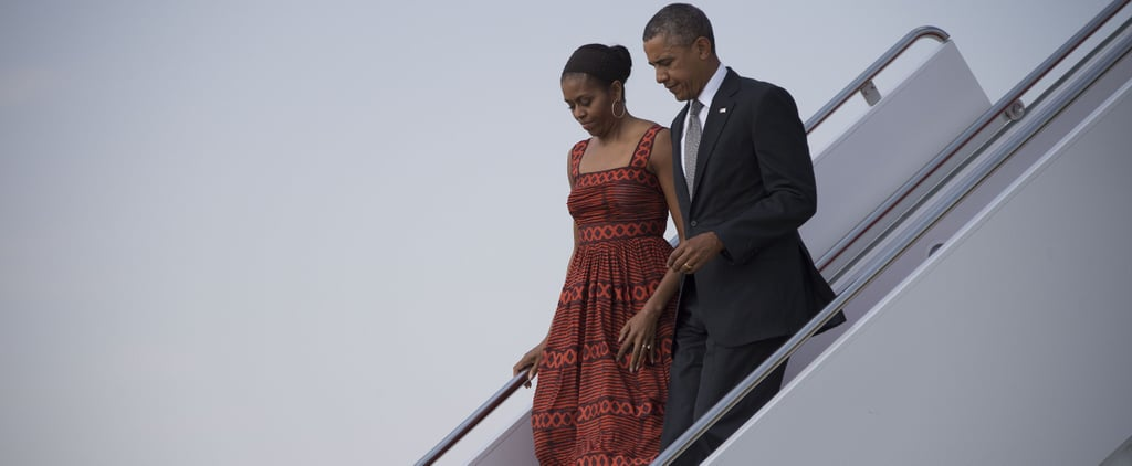 Michelle Obama's Dress Will Tell You Exactly Where She's Going