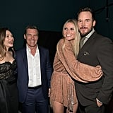 Pictured: Elizabeth Olsen, Josh Brolin, Gwyneth Paltrow, and Chris Pratt