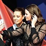 Aubrey Plaza and Sarah Ramos at the 2019 MTV Movie and TV Awards