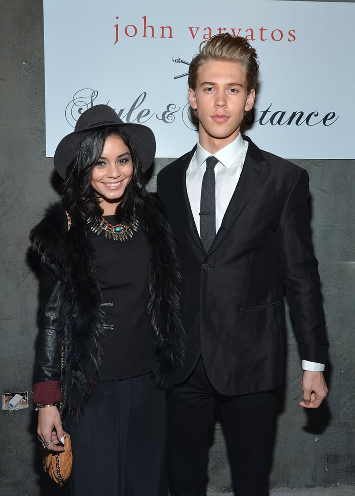 Vanessa and Austin looked relaxed and happy at a fashion event in New York City in February 2013.