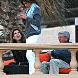 Elisabetta Canalis Bikini Pictures With George Clooney in Cabo for Mexico