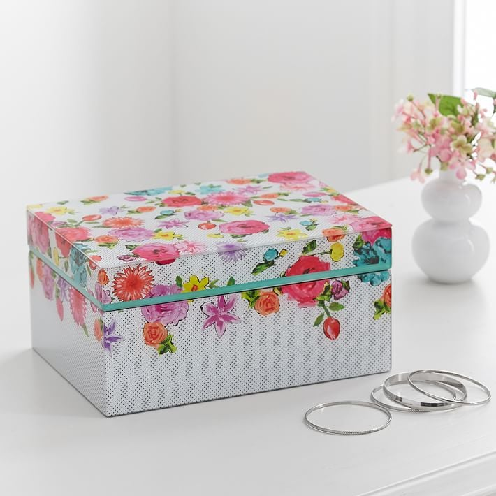 Teen Jewelry Box Extraordinary MayBaby Large Jewelry Box 60 And Free Shipping Pottery Barn