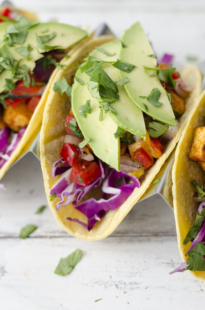 Tofu Tacos With Mango Salsa