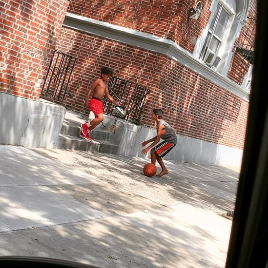 Boy Gives Basketball Sneakers to Barefoot Friend Video