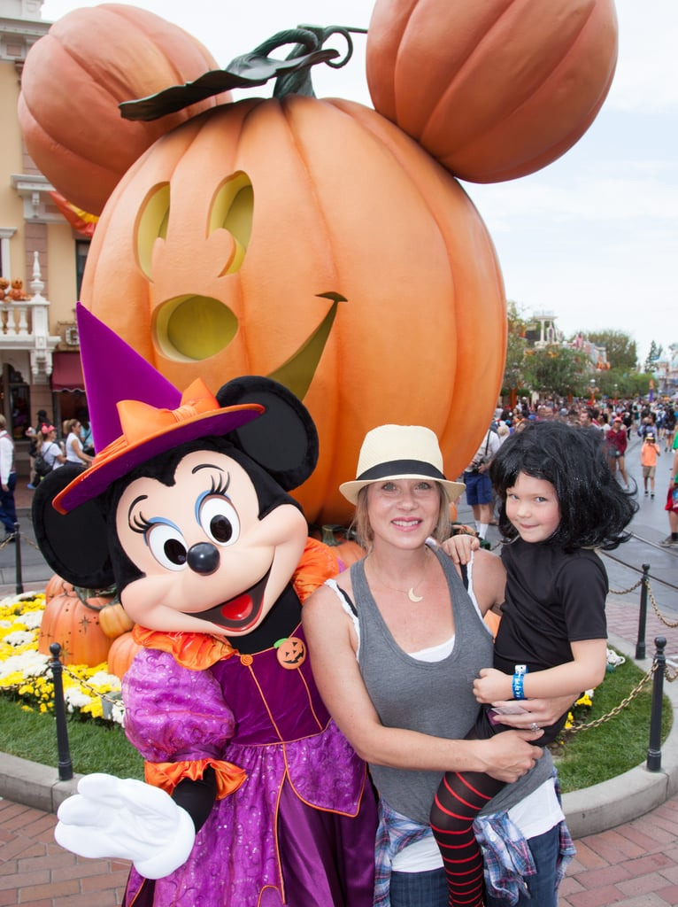 Christina Applegate and her daughter celebrated Halloween with Minnie Mouse in Oct. 2015.