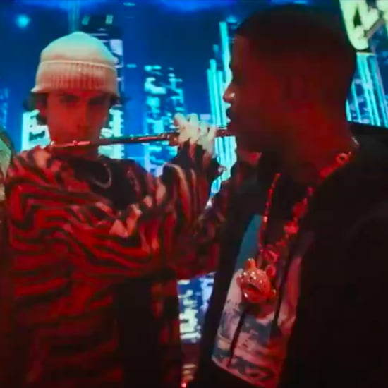 Watch Kid Cudi and Timothée Chalamet in SNL Flute Sketch