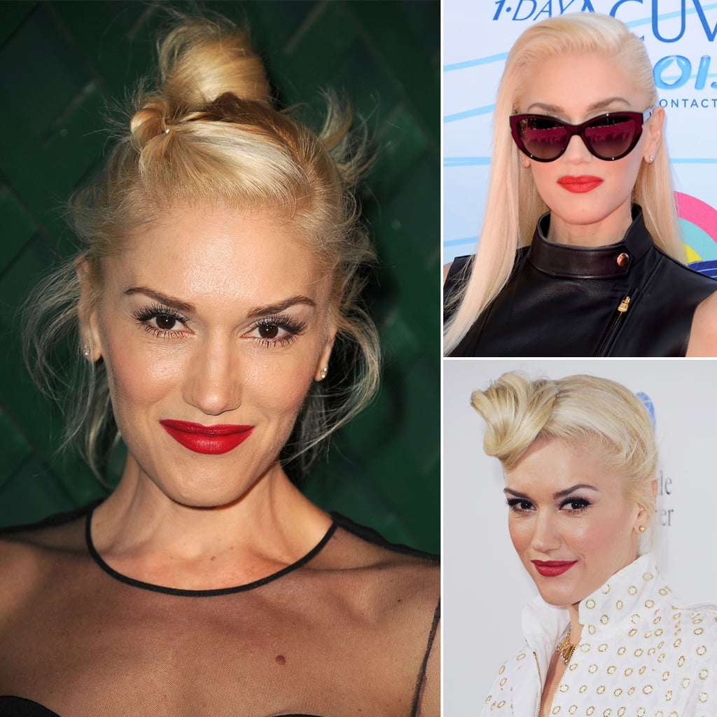 Who: Gwen Stefani The look: Rockabilly-red lips The No Doubt singer and pop diva has a well-curated look that focuses on a rockabilly aesthetic. And the main draw? Red lips, of course!