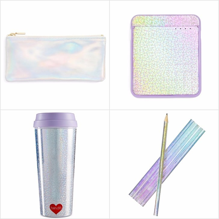Iridescent Desk Accessories