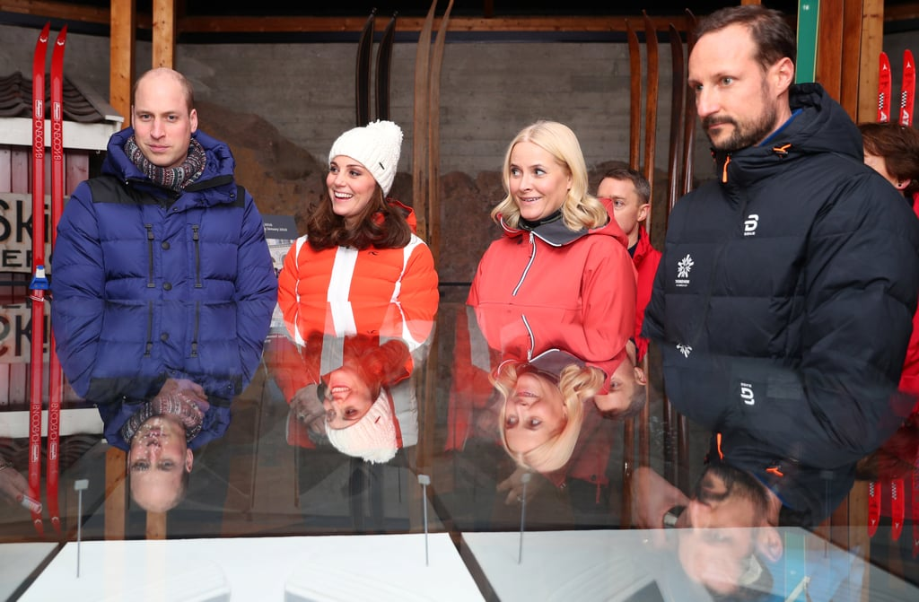 Kate and Will With Crown Princess Mette-Marit of Norway and Crown Prince Haakon of Norway
