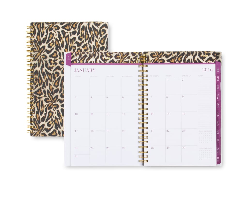 Nicole Miller Leopard 2016 Weekly/Monthly 5 x 8 Planner