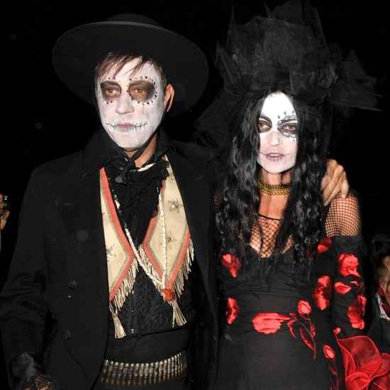 Kate and Moss and Jamie Hince in Halloween Costumes 2013