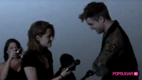 Video of Robert Pattinson and Kristen Stewart at an LA Movie Theater For Eclipse