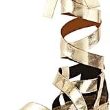 Rebecca Minkoff Gila Lace-Up Tall Espadrille Sandal, Light Gold ($150)