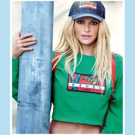 Britney Spears Kenzo 2018