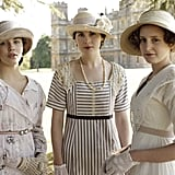 Although some cosmetics existed during the Edwardian era, women like the Crawleys would never wear makeup. At the time, anything more than the occasional dusting of face powder was considered declassé at best among high society; the only women who regularly wore makeup were prostitutes and actresses.  Source: ITV