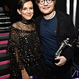 Millie Bobby Brown and Ed Sheeran