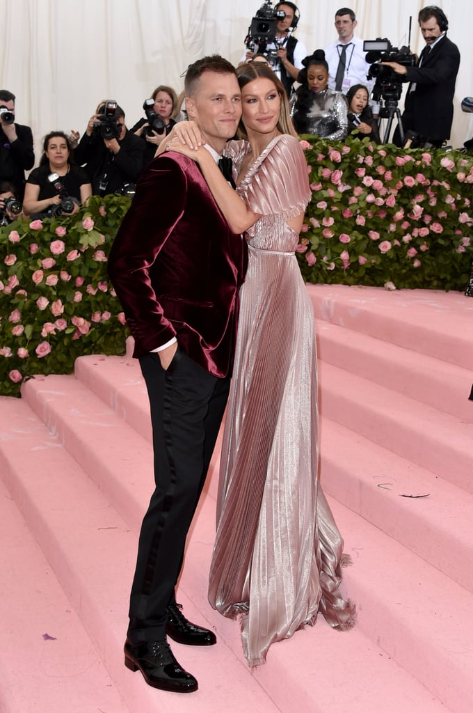 Gisele Bündchen and Tom Brady at the 2019 Met Gala