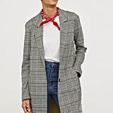 H&M Jacquard-Patterned Coat