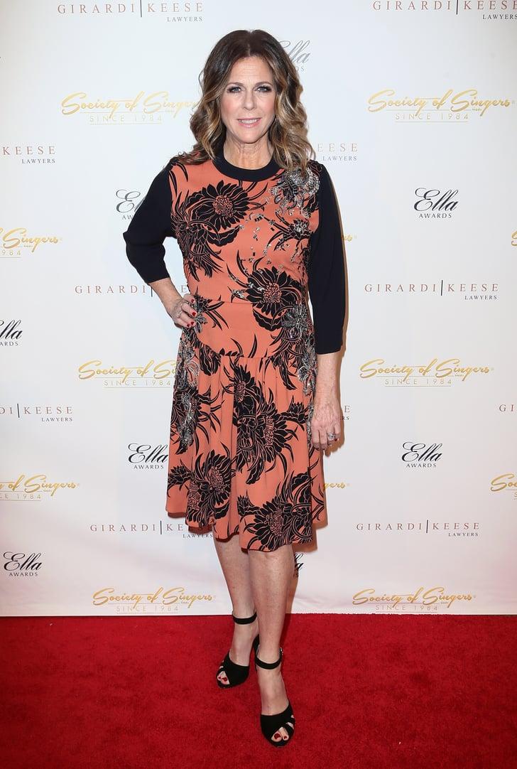 Rita Wilson | Celebrity Red Carpet Fashion | Feb. 17, 2014 ...