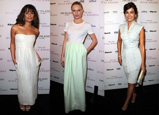 See The Stylish Set At The Hollywood Style Awards In L.A, including Kate Bosworth, Lea Michele and Camilla Belle