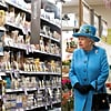 Queen Elizabeth Visits the Supermarket in a Totally Normal, Not at All Royal Way