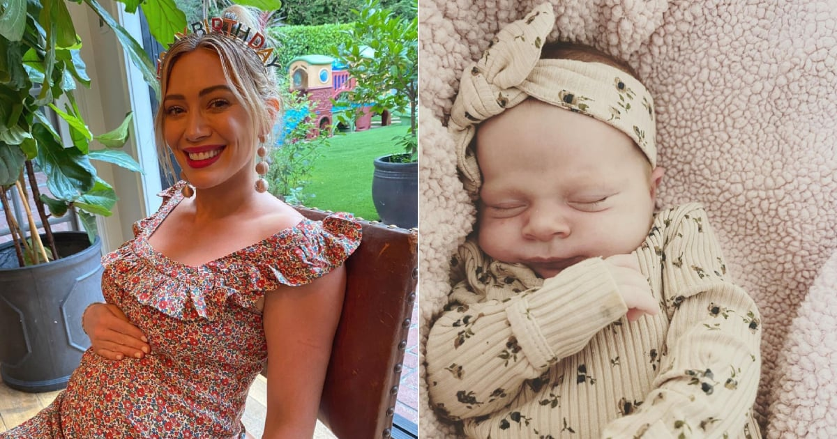 Hilary Duff Opened Up About Her Home Birth Experience and Her Struggle With Breastfeeding.jpg