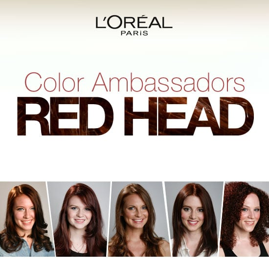 Amazing Before and Afters from L'Oréal's Latest Redhead Color Ambassadors!